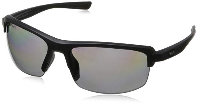 Revo Crux S RE 4067 01 Polarized Rectangular Sunglasses