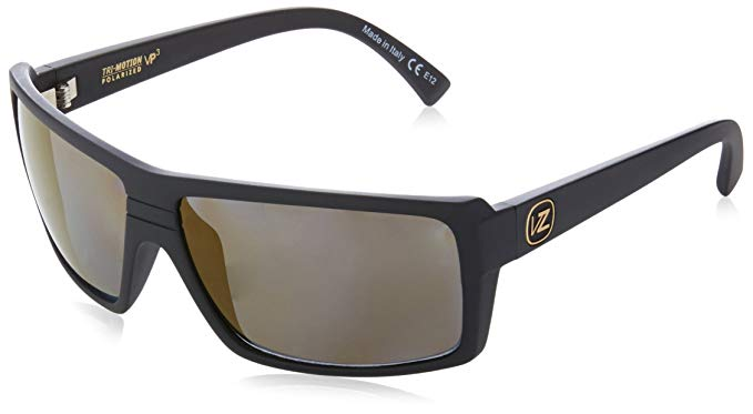 VonZipper Snark Polar Polarized Rectangular Sunglasses